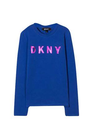 T-shirt blu Dkny Kids DKNY KIDS | 8 | D35Q78829