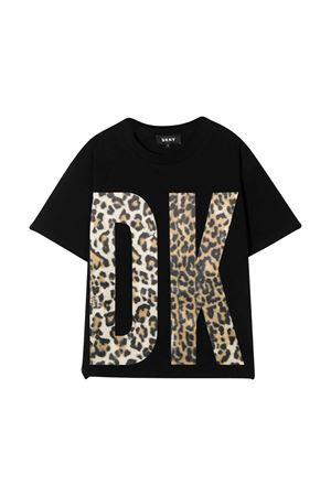T-shirt nera teen Dkny Kids DKNY KIDS | 8 | D35Q7909BT