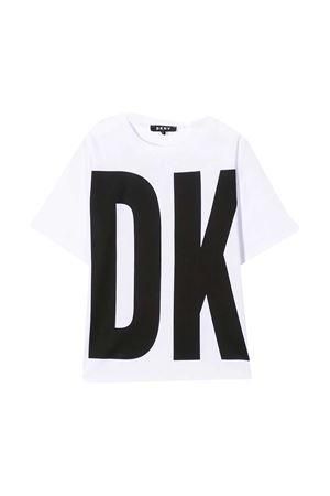 T-shirt bianca teen Dkny Kids DKNY KIDS | 8 | D35Q8410BT