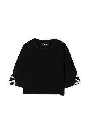 Black t-shirt teen Dkny Kids DKNY KIDS | 8 | D35Q8509BT