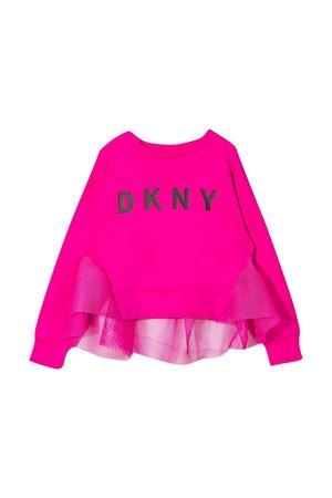 Fuchsia teen sweatshirt Dkny Kids DKNY KIDS | -108764232 | D35R0649ET