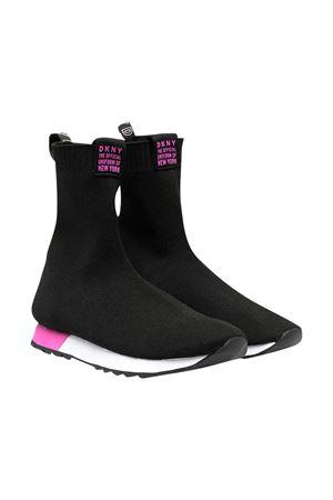 Sneakers nero a calzino teen Dkny Kids DKNY KIDS | 12 | D3903309BT