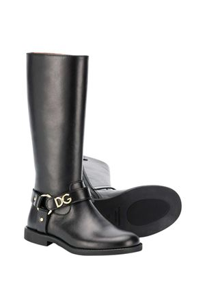 Black boots Dolce and Gabbana Kids  Dolce & Gabbana kids | 76 | D10986AW99880999