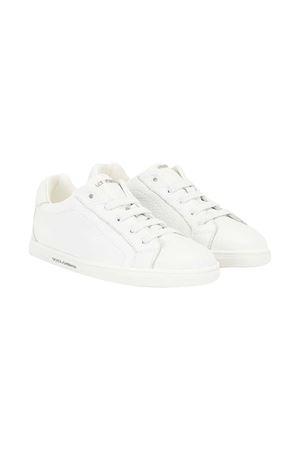 Sneakers bianche teen Dolce & Gabbana Kids Dolce & Gabbana kids | 90000020 | DA0929A806680001T