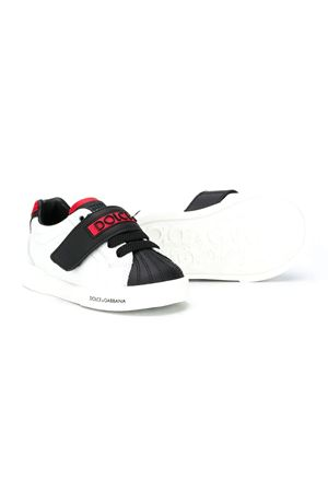 Black and white baby sneakers Dolce&Gabbana kids Dolce & Gabbana kids | 90000020 | DN0150AW43489926