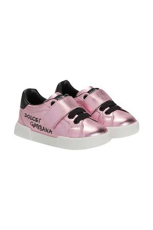 Sneakers rosa Dolce & Gabbana Kids Dolce & Gabbana kids | 90000020 | DN0155AN4428B400