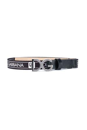Cintura nera con stampa bianca Dolce&Gabbana kids Dolce & Gabbana kids | 22 | EC0060AN5518B939