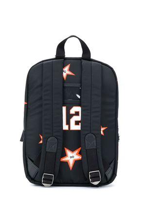 Black backpack with mulricolr Tiger print Dolce&Gabbana kids Dolce & Gabbana kids | 5032345 | EM0034AM407HNJ70