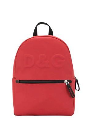 Red backpack Dolce & Gabbana Kids  Dolce & Gabbana kids | 5032345 | EM0079AW08880303