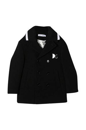 Dolce & Gabbana Kids black coat Dolce & Gabbana kids | 13 | L41C93G7XIDN0000