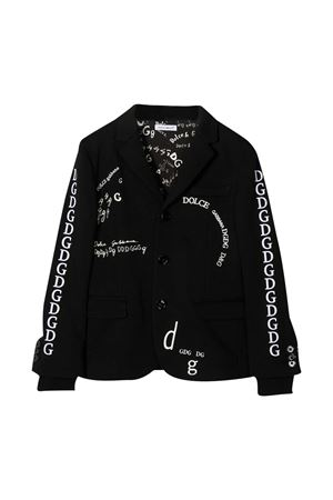 Blazer nero Dolce & Gabbana Kids Dolce & Gabbana kids | 3 | L4JE25G7XCJN0000