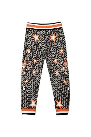 Grey trousers with Tiger and star print Dolce&Gabbana kids Dolce & Gabbana kids | 9 | L4JPBCG7WJWHHJ70