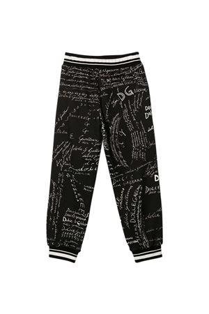 Pantaloni neri Dolce & Gabbana Kids Dolce & Gabbana kids | 9 | L4JPBQG7XBSHX2EP