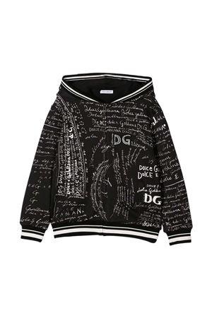 Felpa nera Dolce & Gabbana Kids Dolce & Gabbana kids | -108764232 | L4JW8YG7XBSHX2EP
