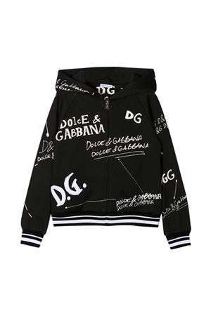 Felpa nera Dolce & Gabbana Kids Dolce & Gabbana kids | -108764232 | L5JW2RG7XBPHN2FI
