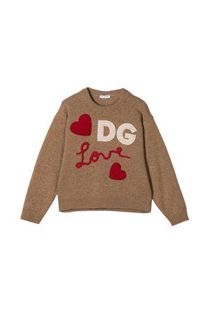 Maglione sabbia Dolce & Gabbana Kids Dolce & Gabbana kids | -108764232 | L5KWA5JAM9YM0850