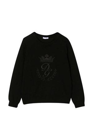 Black sweater Dolce & Gabbana Kids  Dolce & Gabbana kids | 7 | L4KW22JAVUVN0000