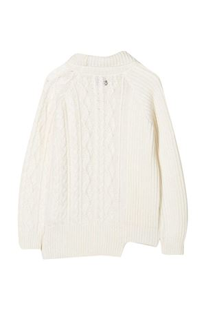 Dondup Kids white teen sweater  DONDUP KIDS | 7 | BM205MY0028BXXX001T