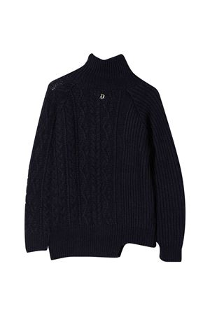 Asymmetric blue sweater Dondup Kids DONDUP KIDS | 7 | BM205MY0028BXXX890