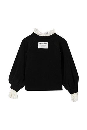 Dondup Kids black sweatshirt DONDUP KIDS | -108764232 | YF062TY0082GXXX999