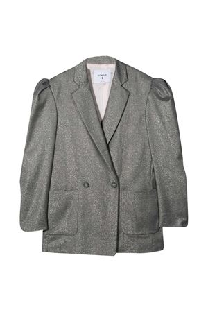Gray double-breasted blazer teen Dondup Kids DONDUP KIDS | 5032278 | YJ251TY0068GZA58920T
