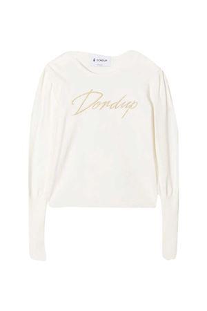 Dondup Kids white sweater  DONDUP KIDS | 7 | YM280MY0032GZA59001
