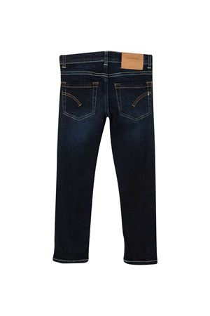 Dark blue stretch-cotton mid-rise slim jeans from DONDUP KIDS  DONDUP KIDS | 9 | YP270DS0290GAX2800