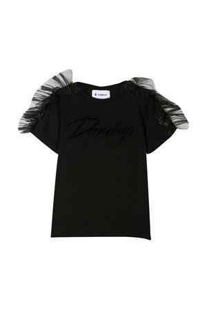 Dondup Kids black t-shirt DONDUP KIDS | 8 | YS193JY0020MZA35999
