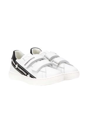 Sneakers bianche Dsquared2 kids DSQUARED2 KIDS | 12 | 65019NERO/BIANCO
