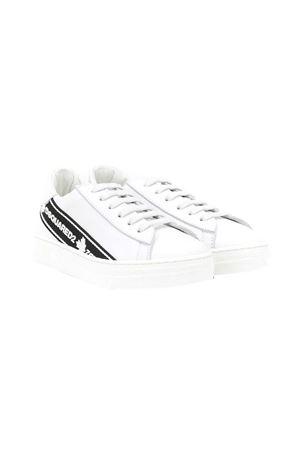 Dsquared kids 2 white sneakers  DSQUARED2 KIDS | 12 | 65136NERO/BIANCO