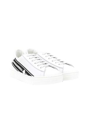Sneakers bianche teen Dsquared kids 2 DSQUARED2 KIDS | 12 | 65136NERO/BIANCOT