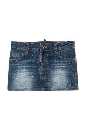 Denim skirt teen Dsquared2 Kids DSQUARED2 KIDS   15   DQ01W4D002ADQ01T