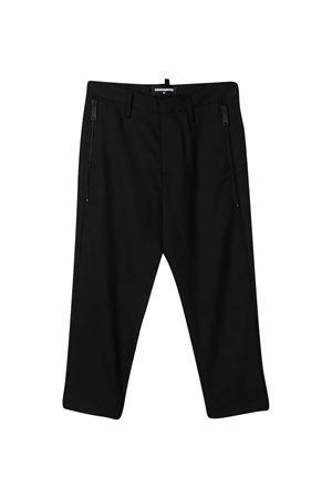 Black trousers Dsquared2 Kids DSQUARED2 KIDS | 9 | DQ046FD00UIDQ900