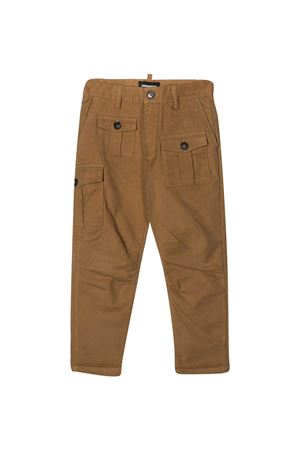 Dsquared2 Kids teen sand trousers DSQUARED2 KIDS | 9 | DQ046HD00ZRDQ728T