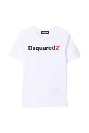 White Dsquared2 Kids t-shirt  DSQUARED2 KIDS | 8 | DQ046TD00XGDQ100