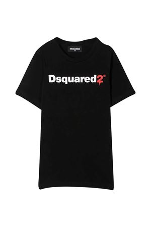 Dsquared2 kids black t-shirt  DSQUARED2 KIDS | 8 | DQ046TD00XGDQ900T