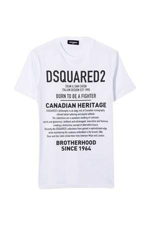White t-shirt Dsquared2 Kids  DSQUARED2 KIDS   8   DQ046WD00XGDQ100