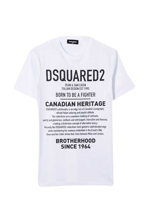 White teen t-shirt Dsquared2 Kids  DSQUARED2 KIDS | 8 | DQ046WD00XGDQ100T