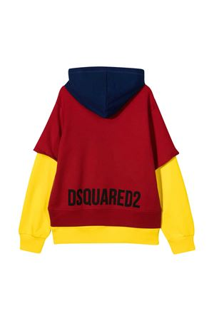 Dsquared2 Kids teen multicolored sweatshirt  DSQUARED2 KIDS | -108764232 | DQ0472D00G4DQ402T