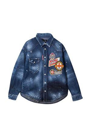 Camicia denim Dsquared2 Kids DSQUARED2 KIDS | 5032334 | DQ047MD001PDQ01