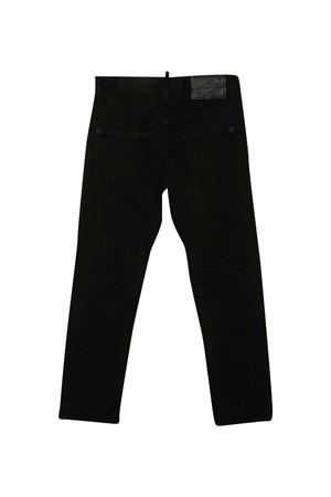 Jeans neri teen Dsquared2 Kids DSQUARED2 KIDS   24   DQ047UD00IWDQ900T