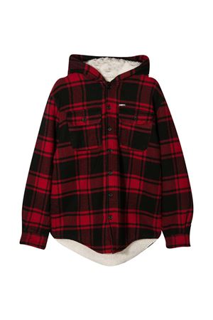 Dsquared2 Kids red checked teen jacket DSQUARED2 KIDS | 3 | DQ0487D00ZTDQ402T