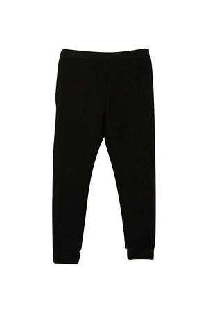 Black teen trousers with white logo DSQUARED2 kids DSQUARED2 KIDS | 9 | DQ048KD00Z9DQ900T