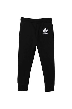 Black jogging pants Dsquared2 kids  DSQUARED2 KIDS | 9 | DQ048PD00J7DQ900