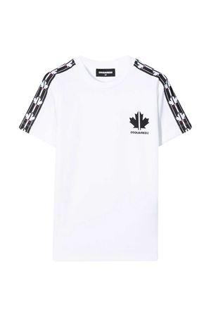 T-shirt bianca teen Dsquared2 kids DSQUARED2 KIDS | 8 | DQ048YD00X4DQ100T