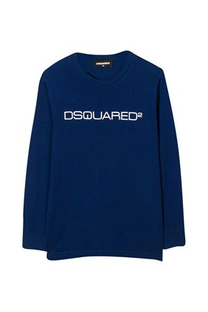 Blue t-shirt teen Dsquared2 Kids DSQUARED2 KIDS | 8 | DQ0491D002FDQ865T