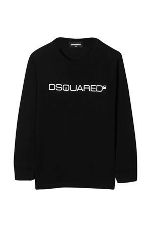 Dsquared2 Kids teen black t-shirt  DSQUARED2 KIDS | 8 | DQ0491D002FDQ900T