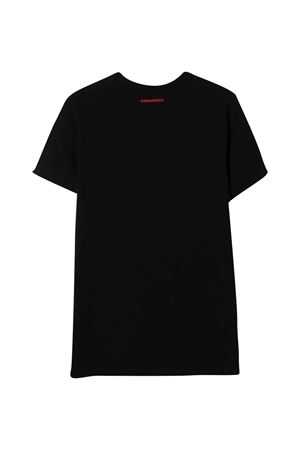 Black t-shirt Dsquared2 Kids DSQUARED2 KIDS | 8 | DQ0493D002FDQ900