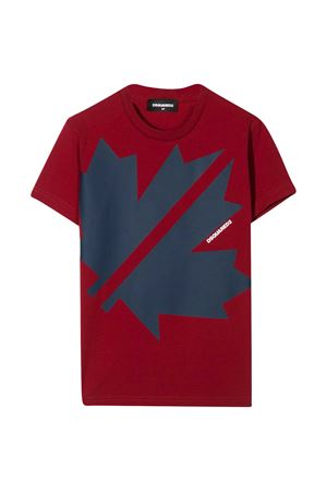 T-shirt bordeaux Dsquared2 kids DSQUARED2 KIDS | 8 | DQ0494D00X4DQ401