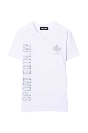T-shirt bianca Dsquared2 kids DSQUARED2 KIDS | 8 | DQ0496D00MMDQ100